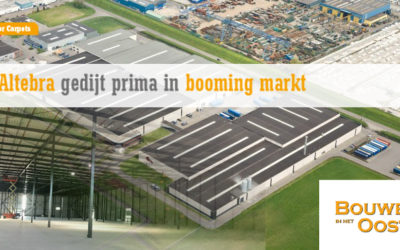 Altebra gedijt prima in Booming Markt